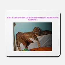 Our baby Bengal cats, Louis & Lia Mousepad