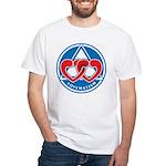LOVEMATISM White T-Shirt
