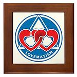 LOVEMATISM Framed Tile