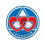 "LOVEMATISM 3.5"" Button (100 pack)"