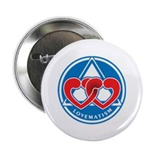 """LOVEMATISM 2.25"""" Button (100 pack)"""
