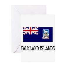 Falkland Islands Flag Greeting Card