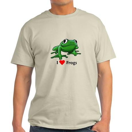 I love Frogs Light T-Shirt
