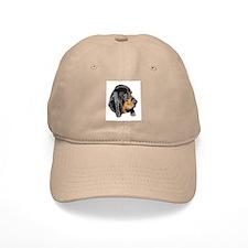 Black and Tan Coonhound Baseball Cap