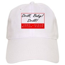 McCain Palin Drill Baby Drill Baseball Cap