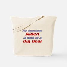 Grandson Aiden - Big Deal Tote Bag