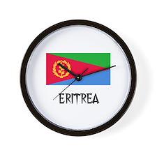 Eritrea Flag Wall Clock
