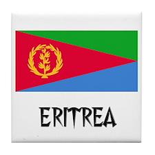 Eritrea Flag Tile Coaster