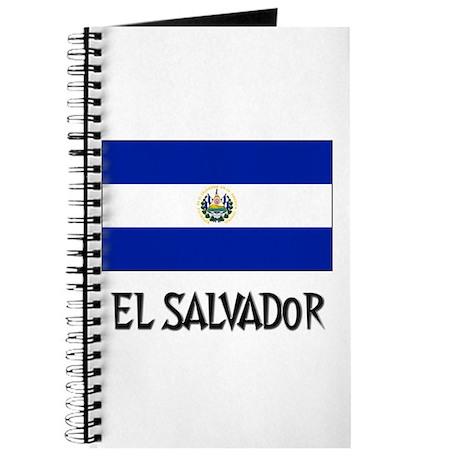 El Salvador Flag Journal