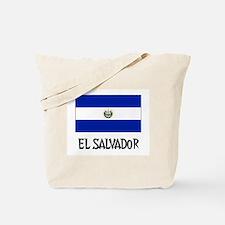 El Salvador Flag Tote Bag