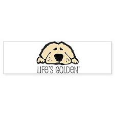 Life's Golden Bumper Bumper Sticker