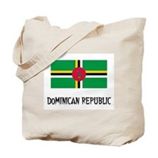 Dominican Republic Flag Tote Bag