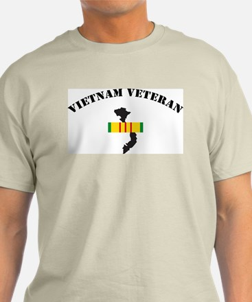 Vietnam Veteran Ash Grey T-Shirt