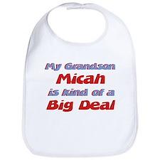 Grandson Micah - Big Deal Bib
