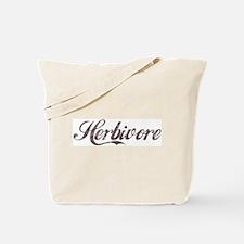 Vintage Herbivore Tote Bag