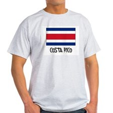 Costa Rico Flag T-Shirt