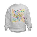 Peace Signs Kids Sweatshirt