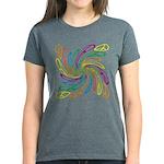 Peace Signs Women's Dark T-Shirt