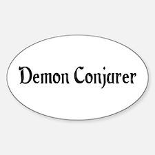 Demon Conjurer Oval Decal