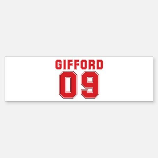 GIFFORD 09 Bumper Bumper Bumper Sticker