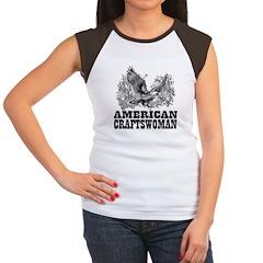 American Craftswoman Women's Cap Sleeve T-Shirt