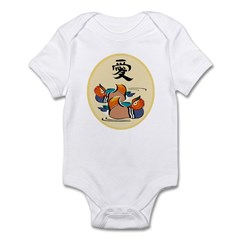 Mandarin Duck Infant Bodysuit