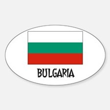 Bulgaria Flag Oval Decal