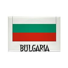 Bulgaria Flag Rectangle Magnet