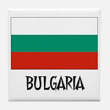 Bulgaria Flag Tile Coaster