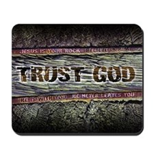 Christian Mousepad - Trust God