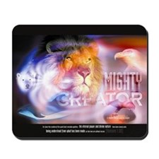 Christian Mousepad - Mighty Creator