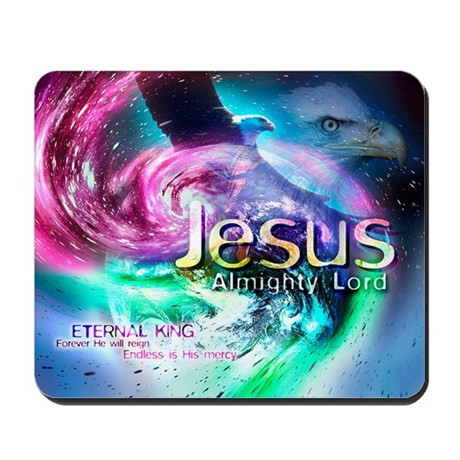 Christian Mousepad - Jesus Almighty Lord