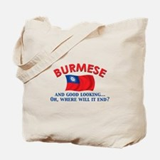 Good Lkg Burmese Tote Bag