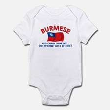 Good Lkg Burmese Infant Bodysuit