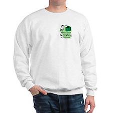 Cute Wisconsin geocaching Sweatshirt