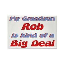 Grandson Rob - Big Deal Rectangle Magnet