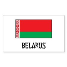 Belarus Flag Rectangle Decal
