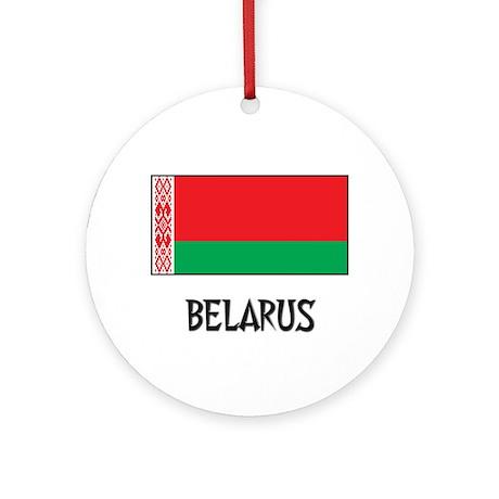 Belarus Flag Ornament (Round)