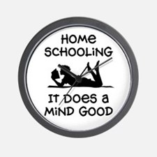 Cool Home schooling Wall Clock