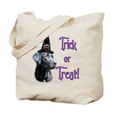 Black Lab Trick Tote Bag