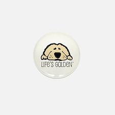Life's Golden Mini Button (10 pack)