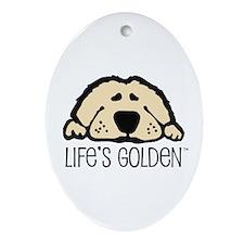 Life's Golden Keepsake (Oval)