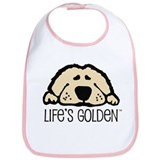 Golden retriever Cotton Bibs