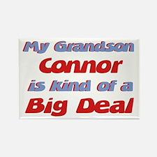 Grandson Connor - Big Deal Rectangle Magnet