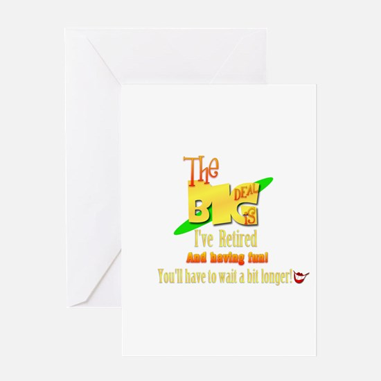 The Big Deal News. Greeting Card
