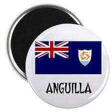 Anguilla Flag Magnet