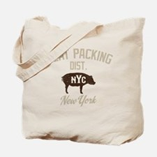 Meat Packing Dist. NYC Tote Bag