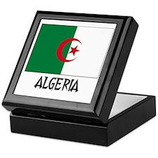 Algeria Flag Keepsake Box