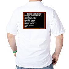"""""""Famous Homeschoolers"""" T-Shirt"""