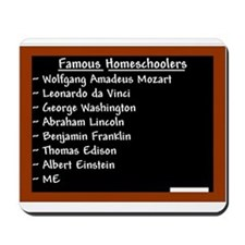 """Famous Males"" Mousepad"